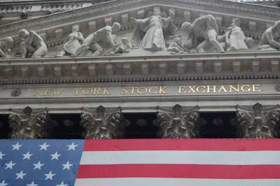 NYSE New York Stock Exchange Wall Street Finanza aziendale