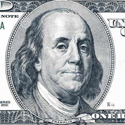 Benjamin Franklin, padre fondatore degli Stati Uniti, nella banconota da 100 dollari. A lui si devono tante invenzioni e qui parliamo dellle famose 13 virtù
